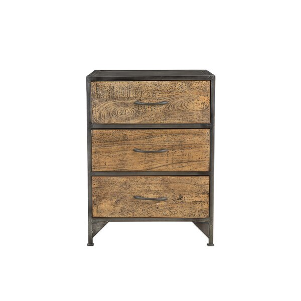 Mariano 3 Drawer Chest by 17 Stories