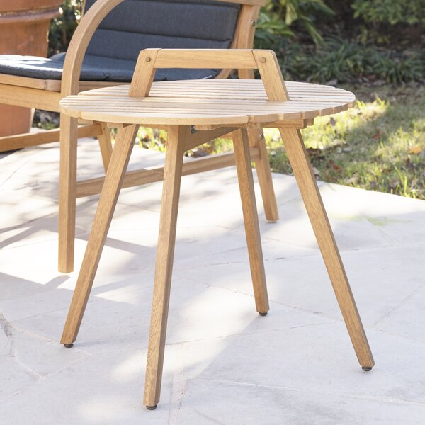 Hagedorn Wooden Side Table by Ivy Bronx