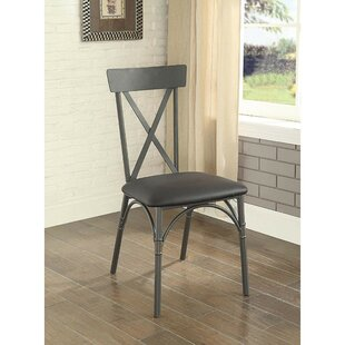Branam Metal Frame Dining Chair (Set of 2)