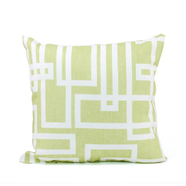 Mari Link Print Throw Pillow by LJ Home