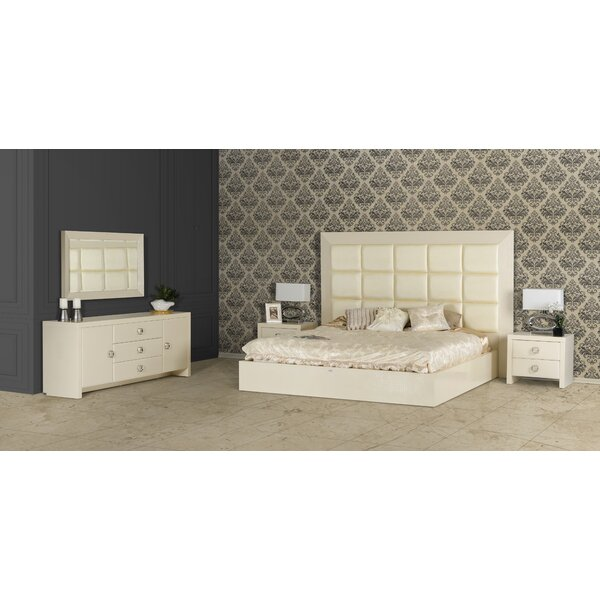 Jolicia Upholstered Platform Bed by Willa Arlo Interiors