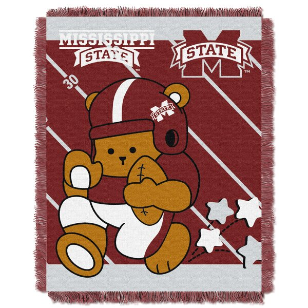 Collegiate Mississippi State Baby Throw by Northwest Co.