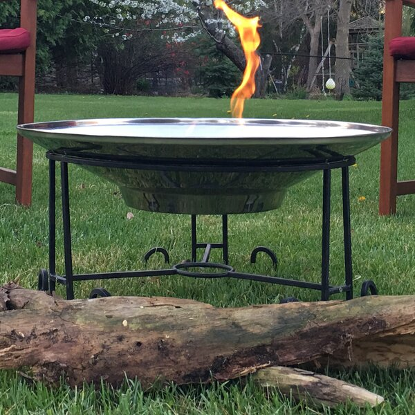 Nantucket Cast Iron Wood Burning Fire Pit by Pomegranate Solutions, LLC