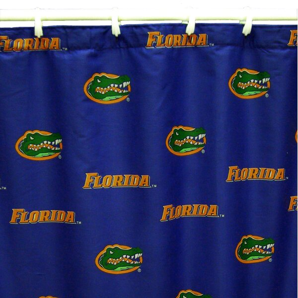 NCAA Florida Gators Cotton Printed Shower Curtain by College Covers