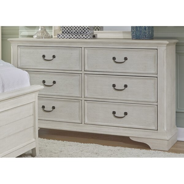 Trenton 6 Drawer Combo Dresser by Rosecliff Heights