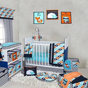 Top Reviews Rovel 10 Piece Crib Bedding Set By Harriet Bee