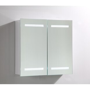 Find a 26 x 25 Surface Mount Medicine Cabinet with LED Lighting By Vanity Art