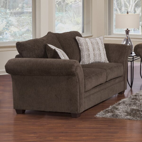 Serta Upholstery Torre Loveseat by Charlton Home