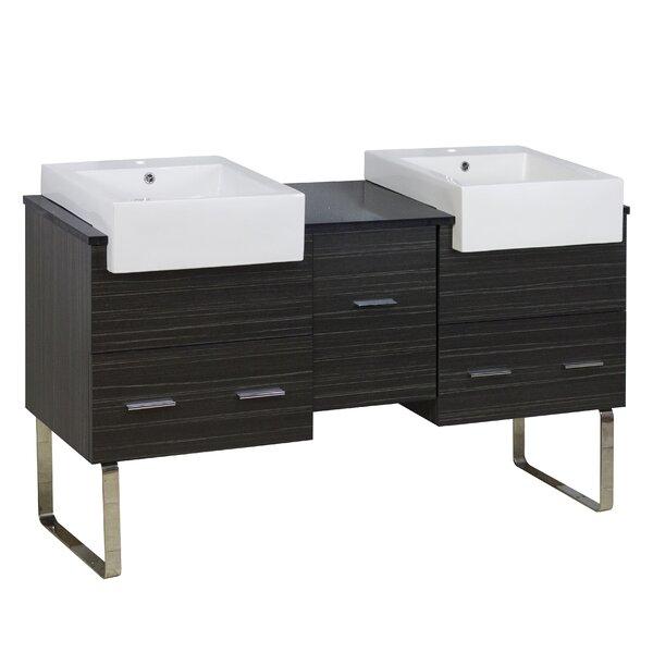 Alican 59.5 Double Bathroom Vanity Base Only