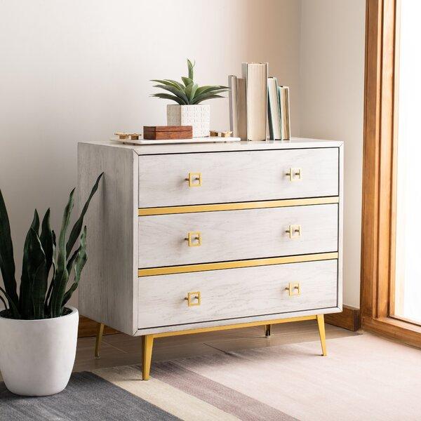 Bronaugh 3 Drawer Dresser