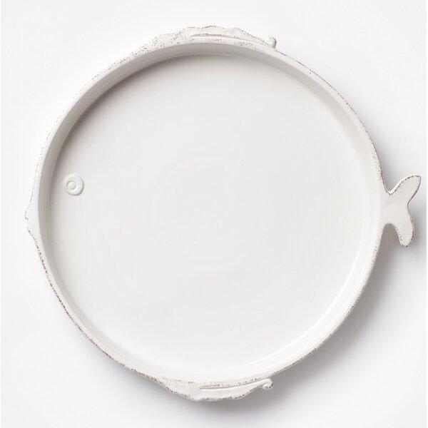 Lastra Fish Round Platter by VIETRI