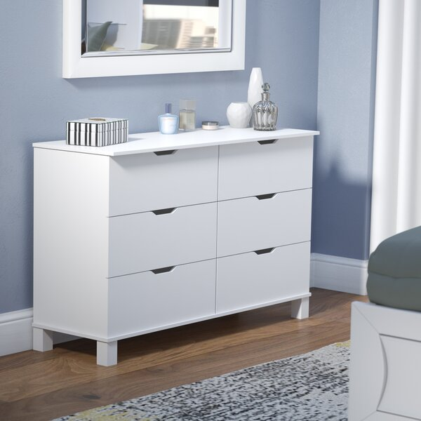 Clark 6 Drawer Double Dresser by Modern Rustic Interiors