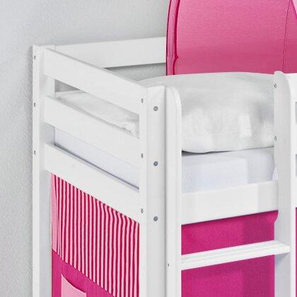 lilokids hochbett disney 39 s frozen mit turm rutsche und vorhang bewertungen. Black Bedroom Furniture Sets. Home Design Ideas