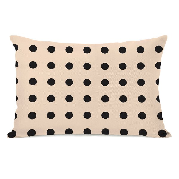 Penny Polka Dots Throw Pillow by One Bella Casa