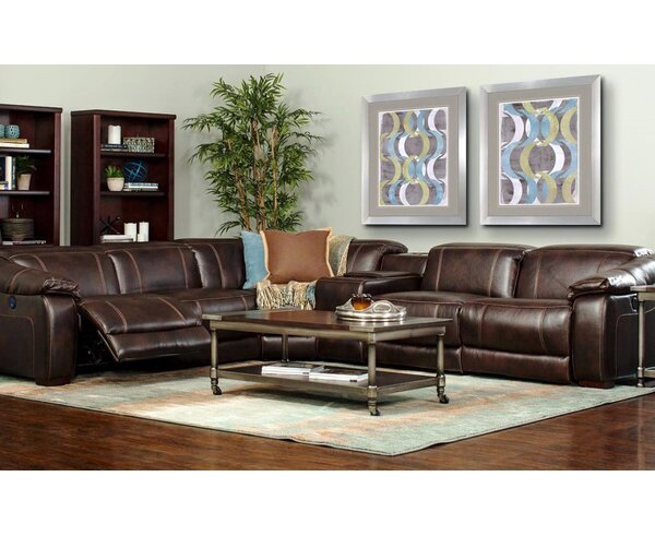James Reclining Sectional by E-Motion Furniture