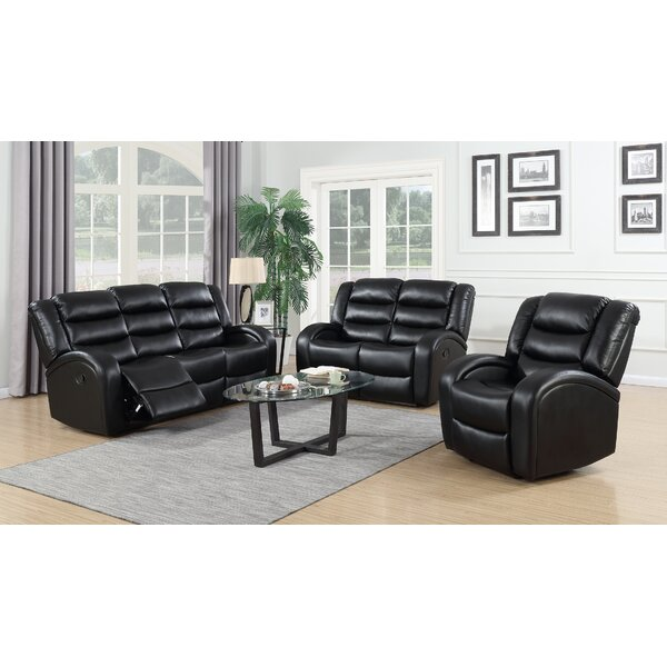 Pamrapo 3 Piece Reclining Living Room Set by Red Barrel Studio