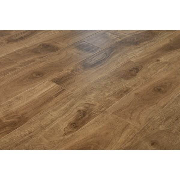 Ariane 7 x 48 x 12mm Oak Laminate Flooring in Lombok Cappucino by Serradon