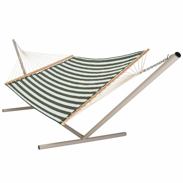 Hamby Large Quilted Polyester Hammock by Highland Dunes