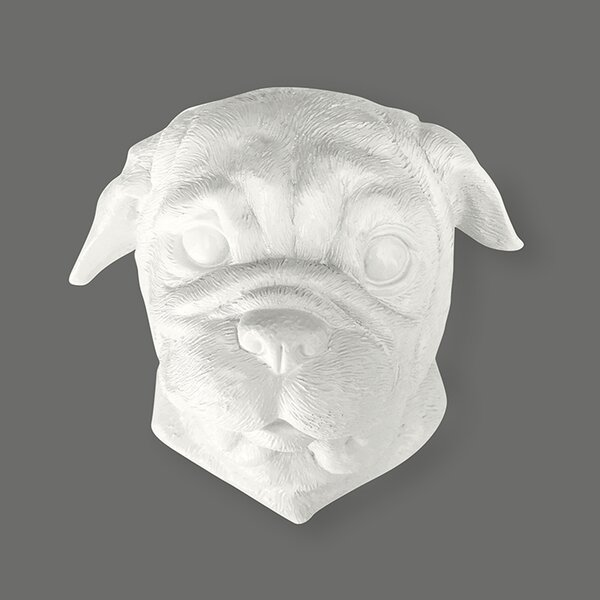 Pug Wall Décor by Naked Decor