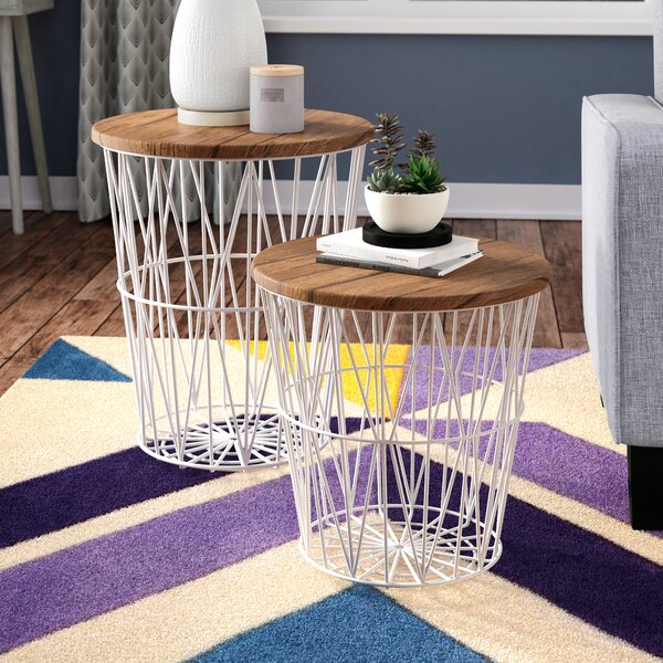 Mcgonigal 2 Piece Nesting Tables By Wrought Studio