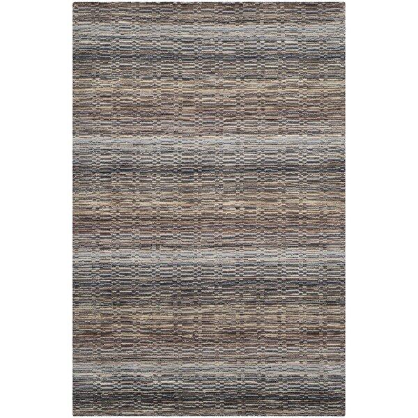Keith Grey Stripes Area Rug by Latitude Run
