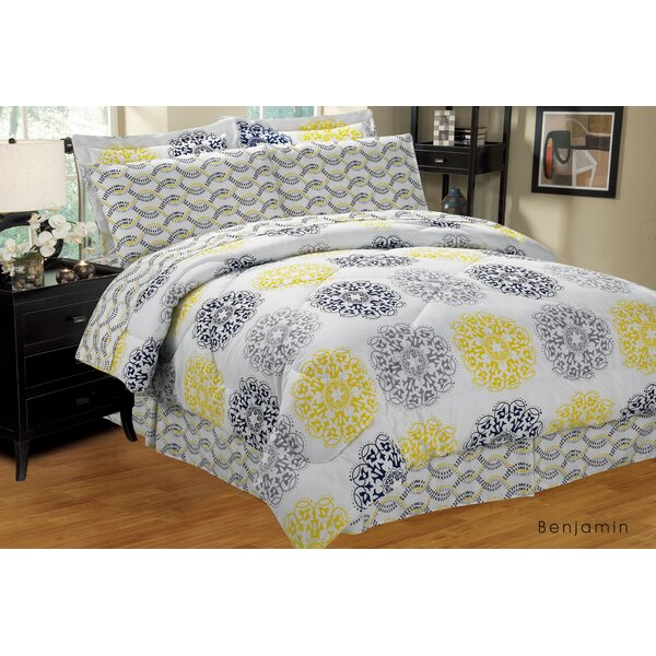 Complete Reversible Comforter Set by Home Sweet Home Dreams