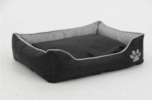 Waterproof Plush Oxford Pet Sleeper Lounge Bolster by Northlight Seasonal