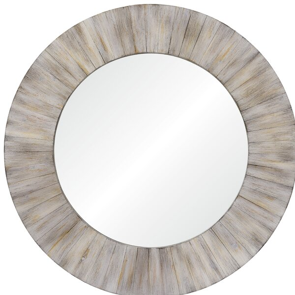 Quimby Wall Mirror by Rosecliff Heights