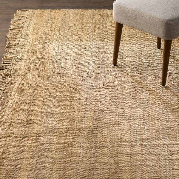 Fiber Hand-Woven Natural Area Rug by Birch Lane™