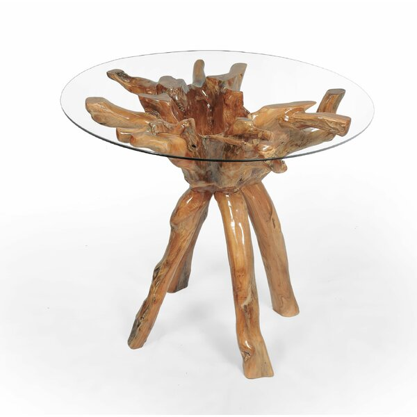 Claudia Root Teak Pub Table by Foundry Select