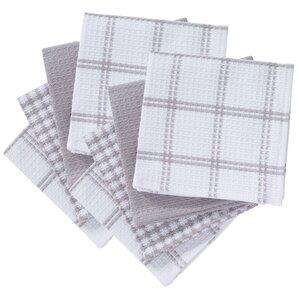 8 piece flat waffle kitchen dishcloth set. beautiful ideas. Home Design Ideas