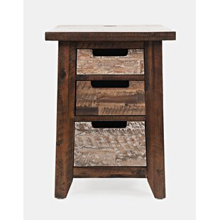 Heritage Hill End Table with Storage