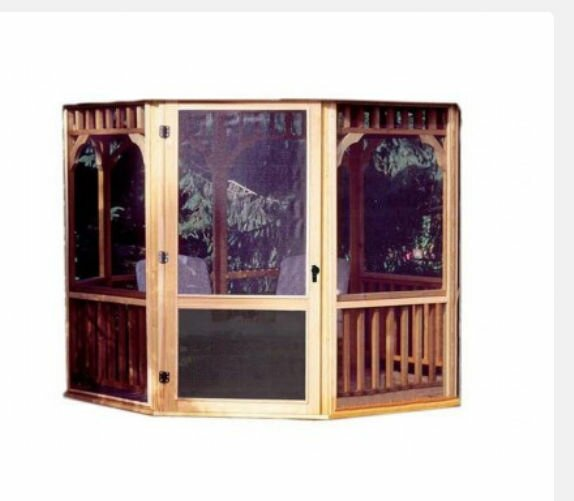 San Marino Screen Kit for 10 Ft. W Gazebo by Handy Home
