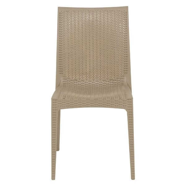 Quade Stacking Patio Dining Chair (Set of 2) by Winston Porter