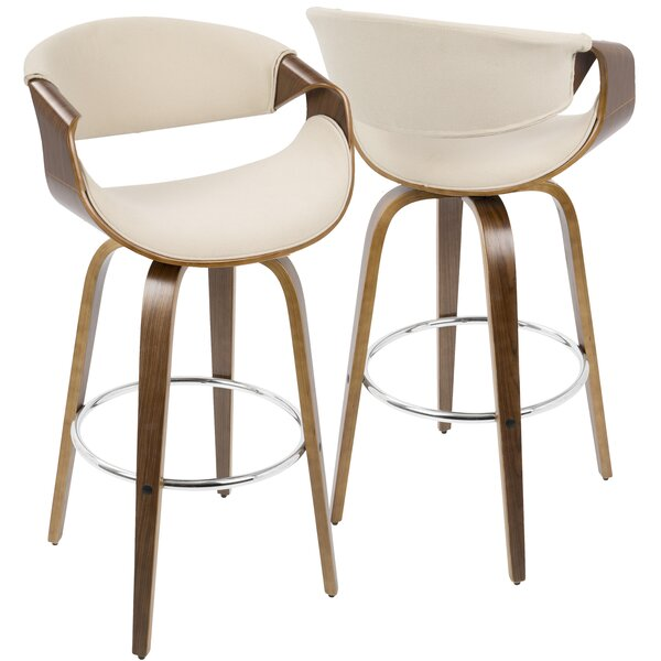 Auburn 30 Swivel Bar Stool (Set of 2) by Langley Street