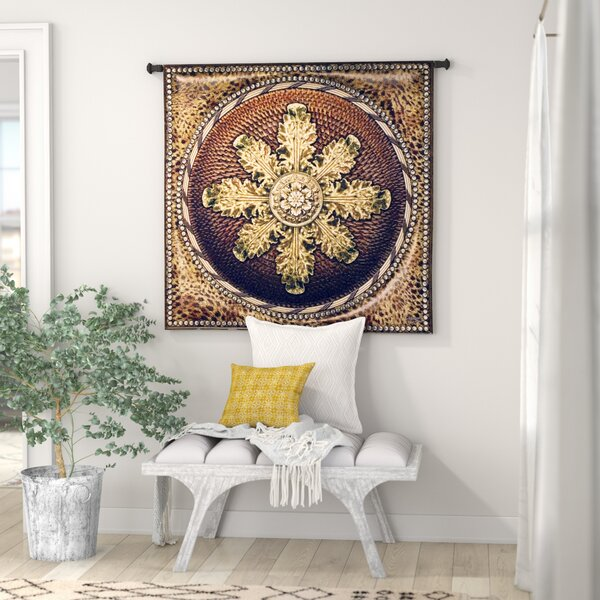 Leopard with Rosette by Acorn Studios Tapestry by World Menagerie