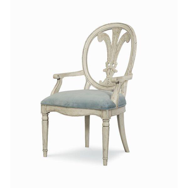 Veranda Queen Anne Back Arm Chair by Fine Furniture Design Fine Furniture Design