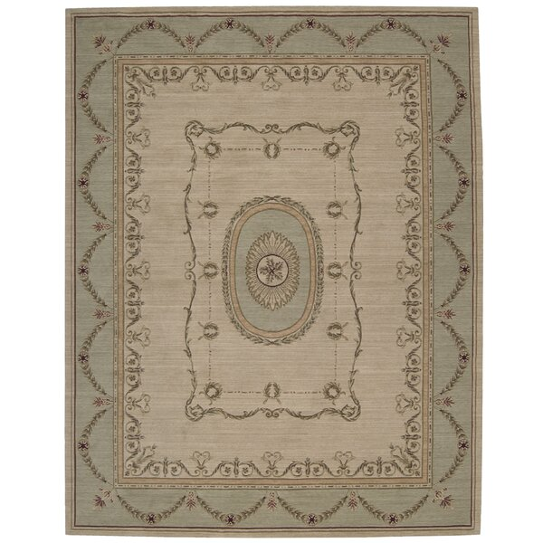 Bryn Geometric Beige Area Rug by Astoria Grand