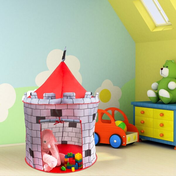 Medieval Castle Kids Pop-Up Play Tent by Hey! Play