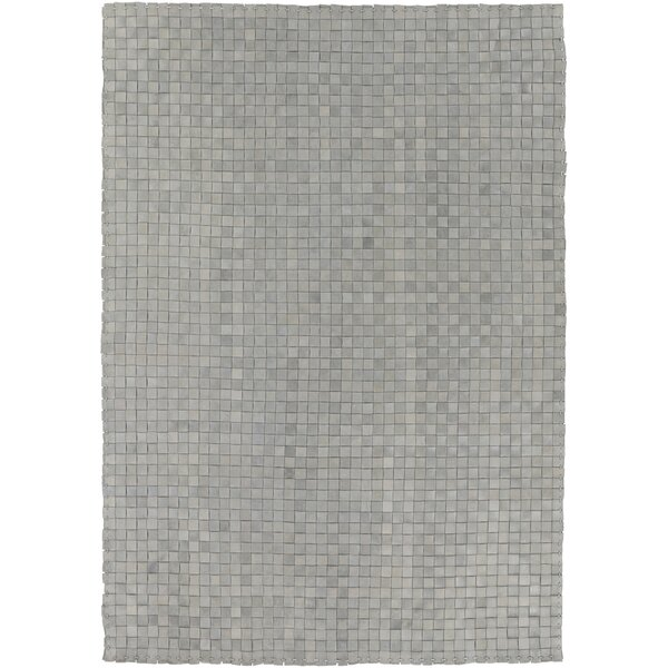 Taraji Hand Woven Gray Indoor/Outdoor Area Rug by 17 Stories