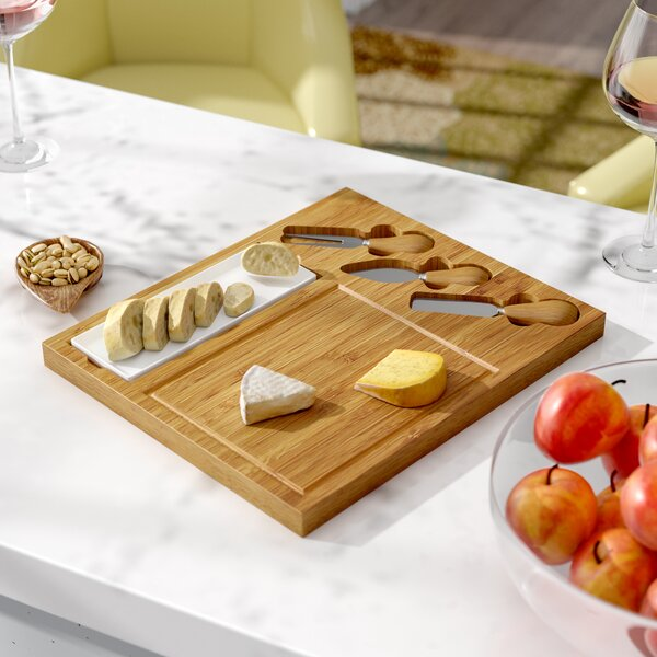 Bayou 5 Piece Celtic Cheese Tray Set by Andover Mills