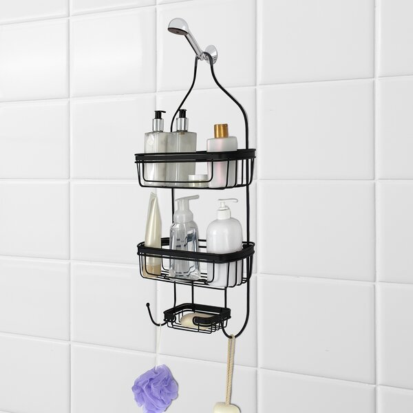 Edward Shower Caddy by Rebrilliant