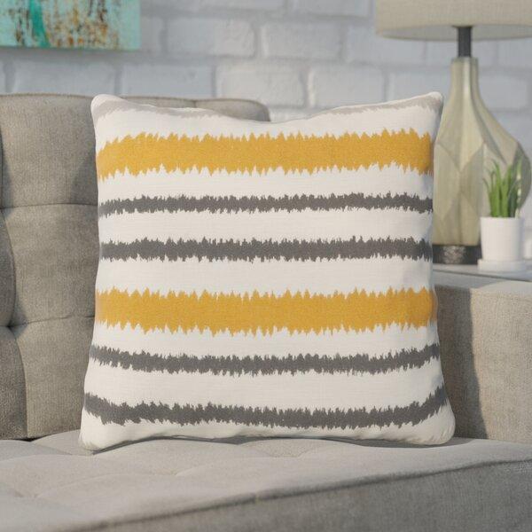 Arrey Vertical Stripes Linen Throw Pillow by Brayden Studio