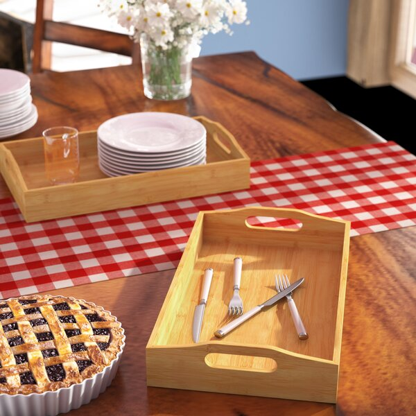 West Serving Tray By Millwood Pines by Millwood Pines No Copoun