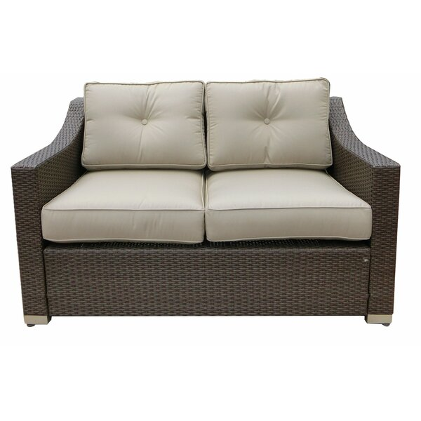 Tampa Loveseat with Cushion by World Wide Wicker