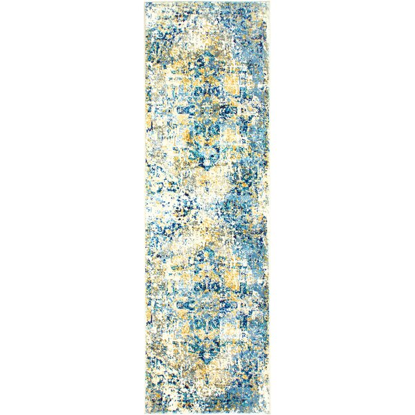 Heritage Cotton Blue/Beige Area Rug by Shabby Chic