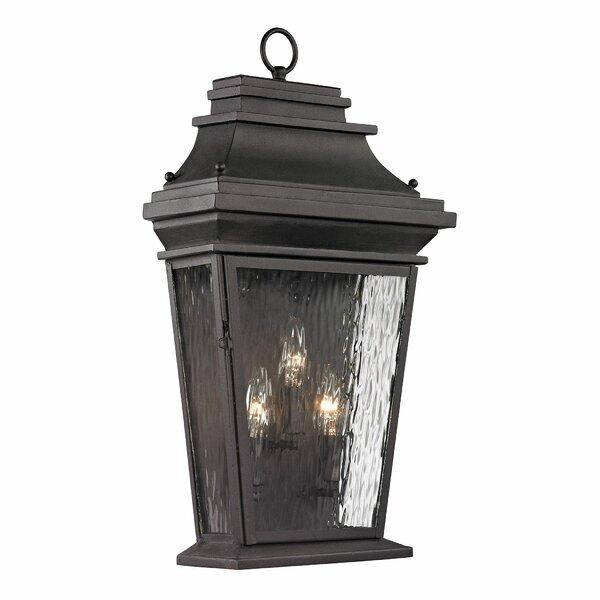 Maxen 3-Light Outdoor Wall Lantern by Alcott Hill