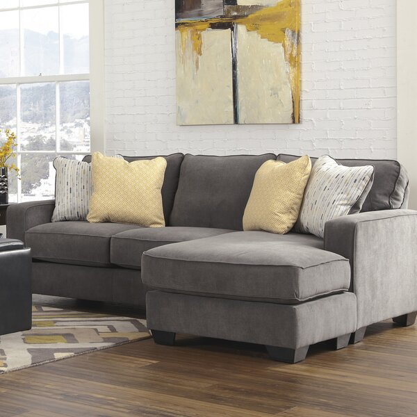 Dematteo Reversible Sectional by Ebern Designs