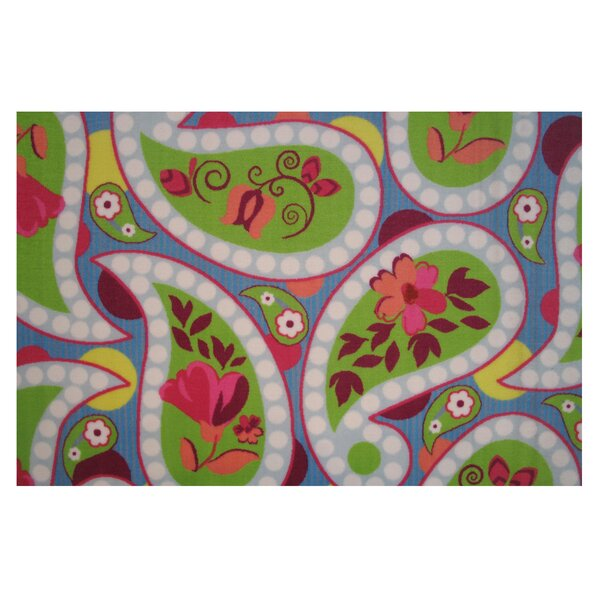 Fun Time Floral Area Rug by Fun Rugs