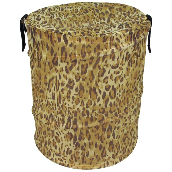 Cheetah Pattern Pop Up Hamper by Rebrilliant